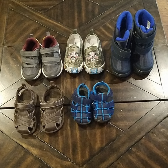Boys Toddler Shoes Size 4 To 6